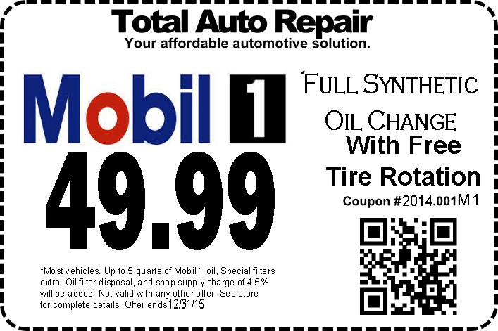 Oil Change $ off. Come get your oil changed at Mobil1 Lube Express in Mission. We specialize in oil changes to help protect your vehicle and keep it running smoothly.